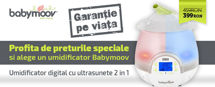 Promotie Babymoov  Umidificatoare