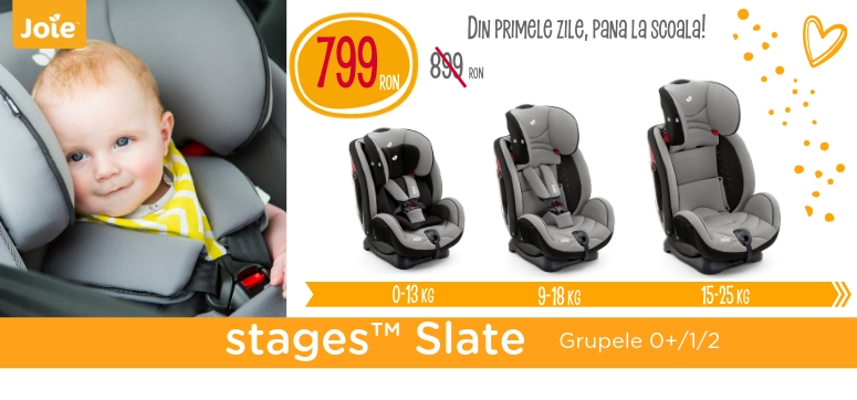 Joie stages slate