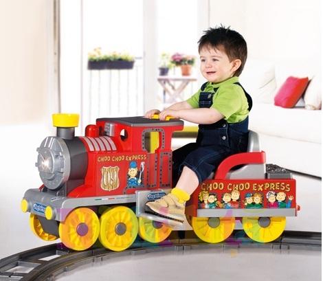 Trenulet electric Choo Choo Express