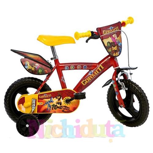 Bicicleta Gormiti 123 GLN-GR