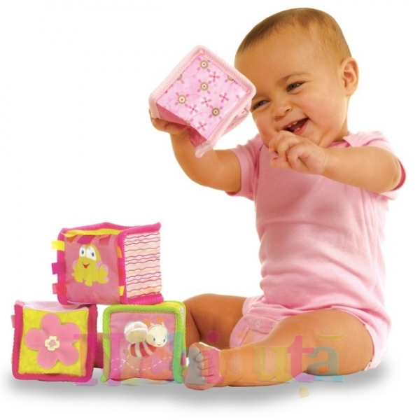 Cuburi Pretty In Pink Bloomin Blocks