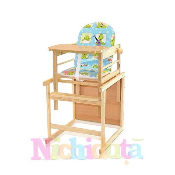 Scaun cu Masa din lemn Baron