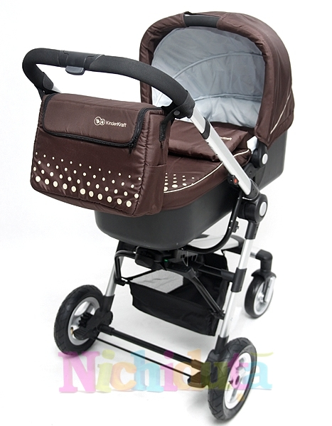 Carucior 3 in 1 Kraft Brown