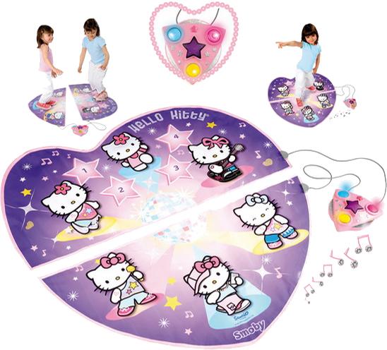 Covor pentru dans Hello Kitty