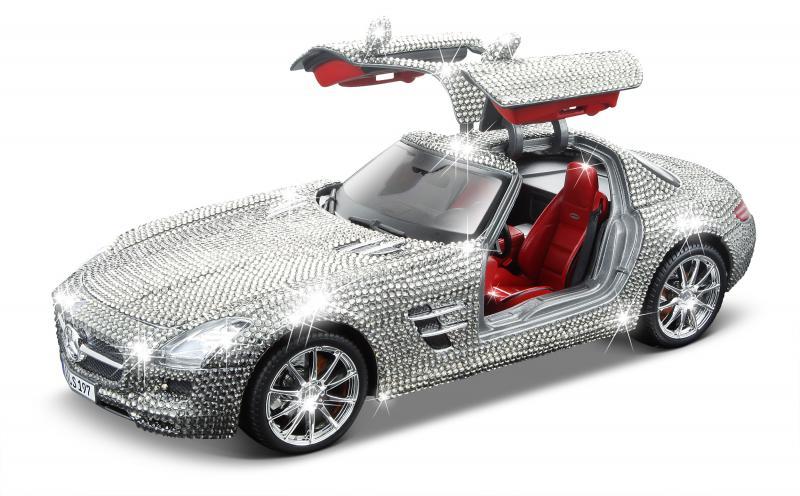 Mercedes SLS Cristale Swarovski