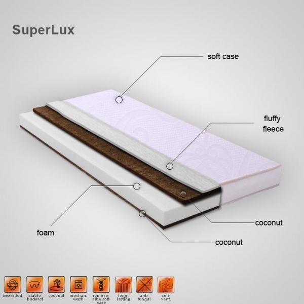 Saltea Super Lux 140x70x13,5 cm