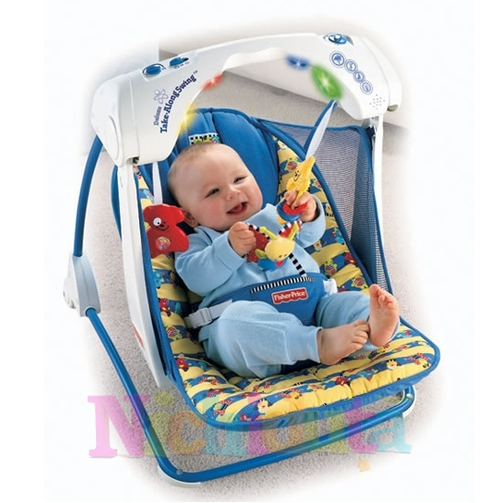 Leagan Deluxe Take Along Fisher-Price