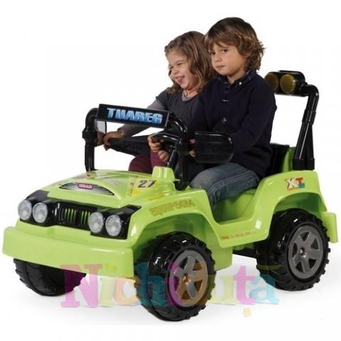 Jeep electric cu 2 locuri Touareg Verde