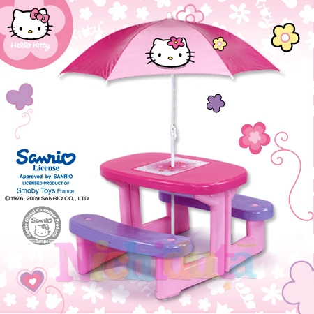 Masa de picnic Hello Kitty