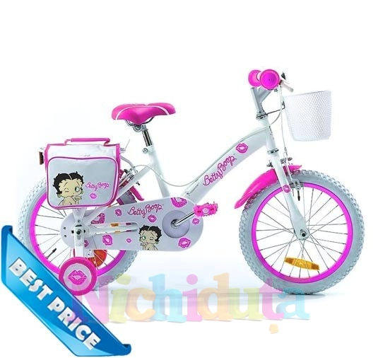 Bicicleta Betty Boop Kiss Pink 16
