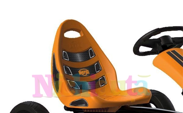 Kart cu pedale Berg Rally Orange imagine