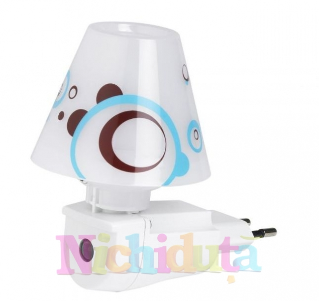 Lampa de veghe LED cu senzor Chocolate