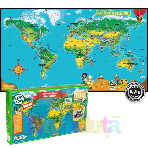 Harta Interactiva A Lumii Tag Nichiduta Ro