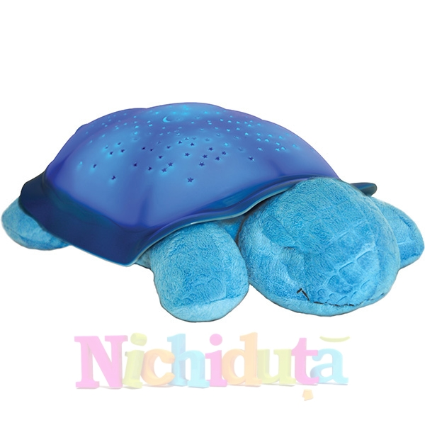Lampa de veghe Twilight Turtle Bleu