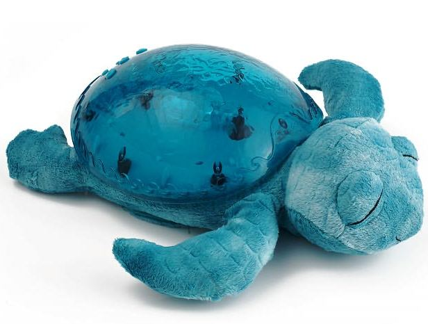 Lampa de veghe Tranquil Turtle Aqua-Mari