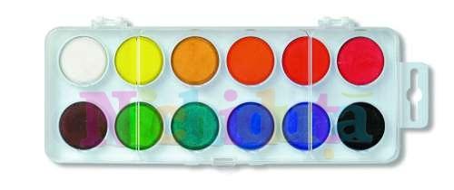 Acuarela, 12 culori