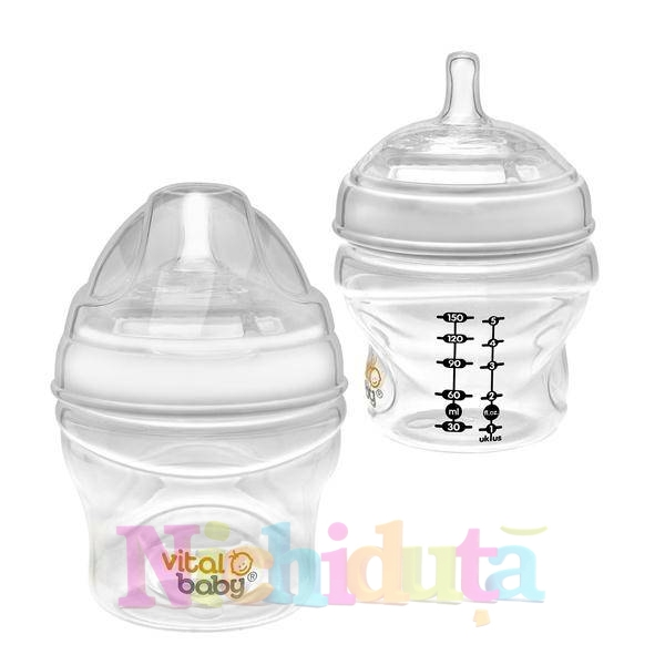 Biberon Vital Baby Breast-like - 150ml x
