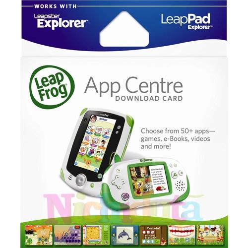 Card Acces aplicatii LeapPad