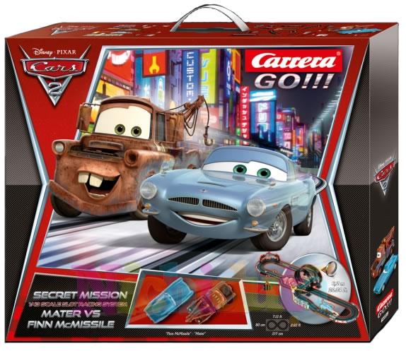 Cars Carrera GO, Spy Chasing