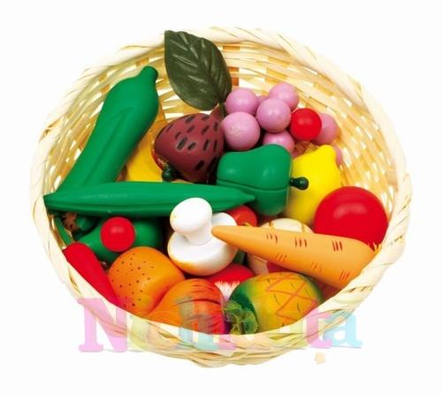 Cos impletit cu legume si fructe