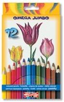 Creioane de colorat Omega Jumbo Koh-I-Noor.