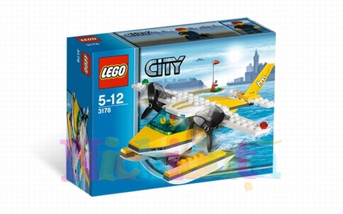 HIDROAVION din seria LEGO CITY.