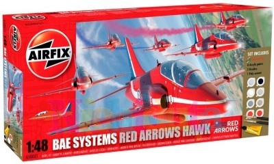 Kit constructie avion Red Arrow Hawk