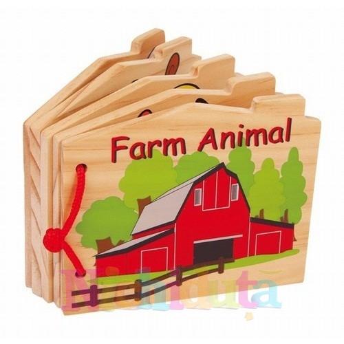 La ferma - carte de lemn cu texturi