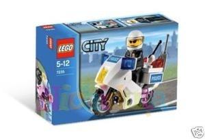 MOTOCICLETA POLITIE din seria LEGO CITY.