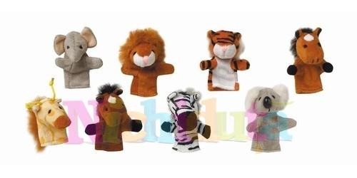 Marionete de deget - Prietenii din jungla