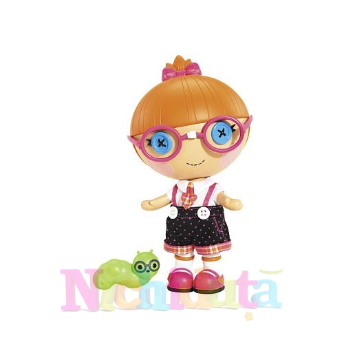 Papusa Lalaloopsy - Specs Reads-a-Lots