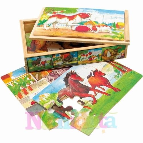 Puzzle animale domestice Animo