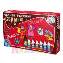 SET DE DECORAT GEAMURI CRACIUN