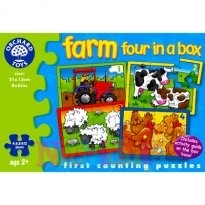 Scene de la ferma - Farm Four in a Box