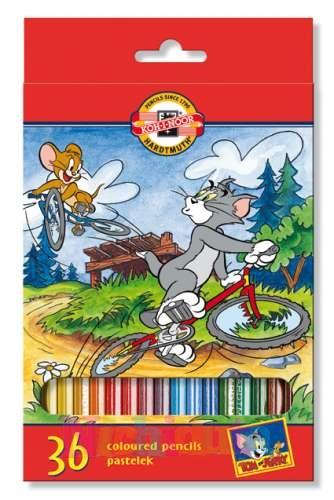 Set Creioane Colorate, 36culori