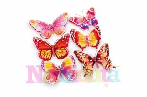 Stickere autoadezive - fluturi