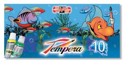 Tempera, 10 culori