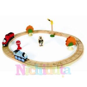 Thomas Wooden Train - Thomas si James-St