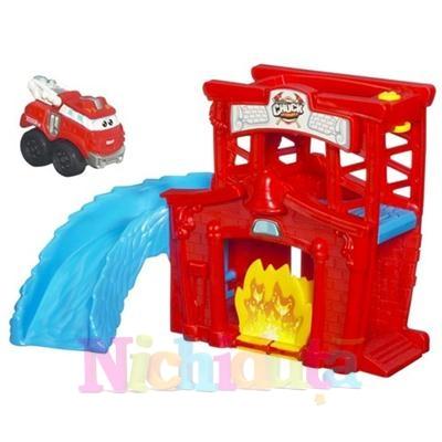 Tonka Chuck Set Fold NGo Set Pompier