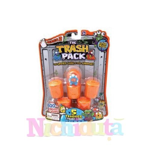 Trash Pack 2 - 5 Figurine pe Blister