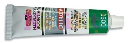 Tub vopsea acril - 40 ml - Culoare rosu inchis