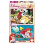Puzzle 16 Piese Cenusareasa si Ariel