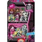 Puzzle Monster High - 2 x 100 piese