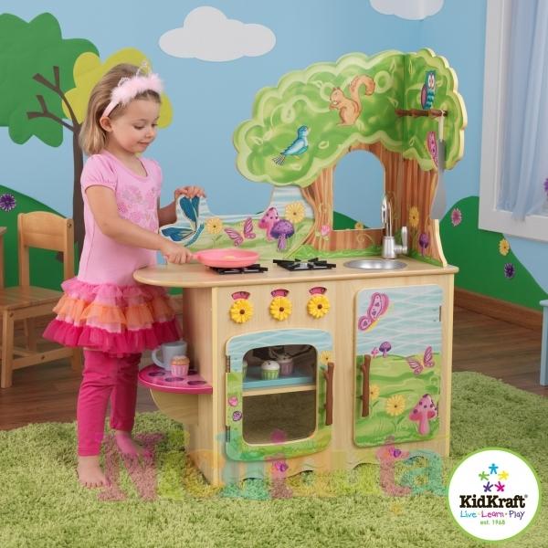 Bucatarie Copii Fairy Woodland Kidkraft