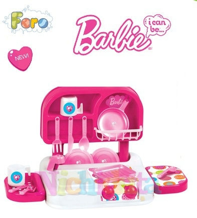 Bucatarie cu accesorii Barbie