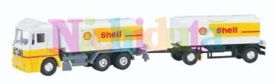 Camion transport carburant cu remorca SH