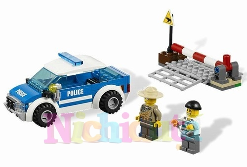 Patrula politie din seria LEGO CITY