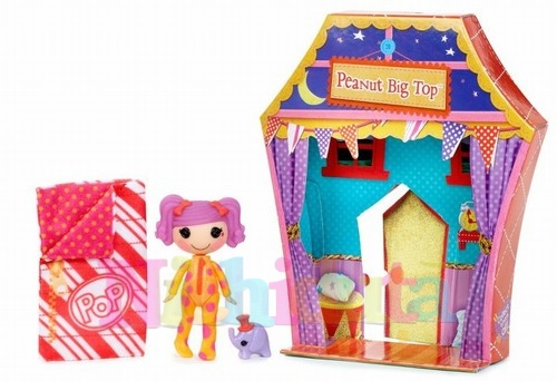 Papusa Lalaloopsy Sew Sleepy - Peanut Big top