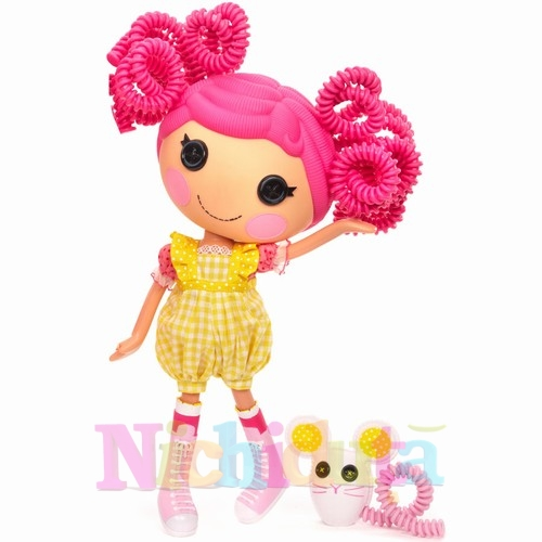 Papusa Lalaloopsy Silly Hair - Crumbs Sugar Cookie
