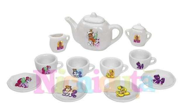 Set ceai din portelan Filly